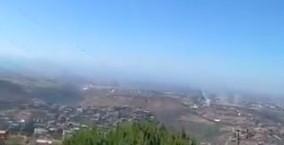 صواريخ من جنوب لبنان باتجاه عكا وحيفا(فيديو)