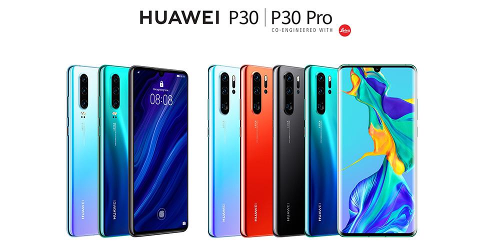 سلسلة Huawei P30 التي طال انتظارها باتت متوفرة في لبنان