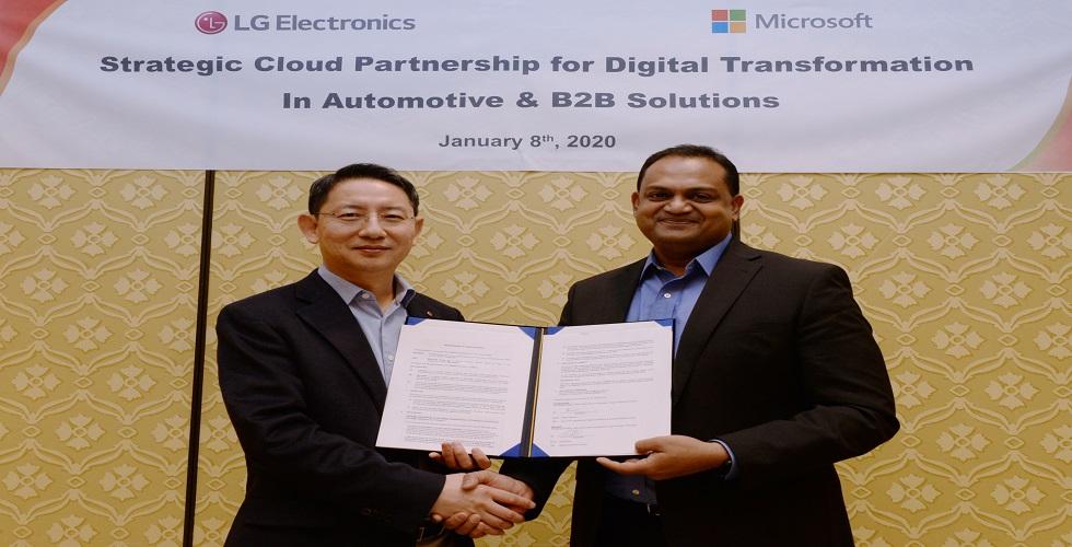 إل جي تُسرّع أداء الإبتكار في الأعمال التجارية بين الشركات بالتعاون مع مايكروسوفت