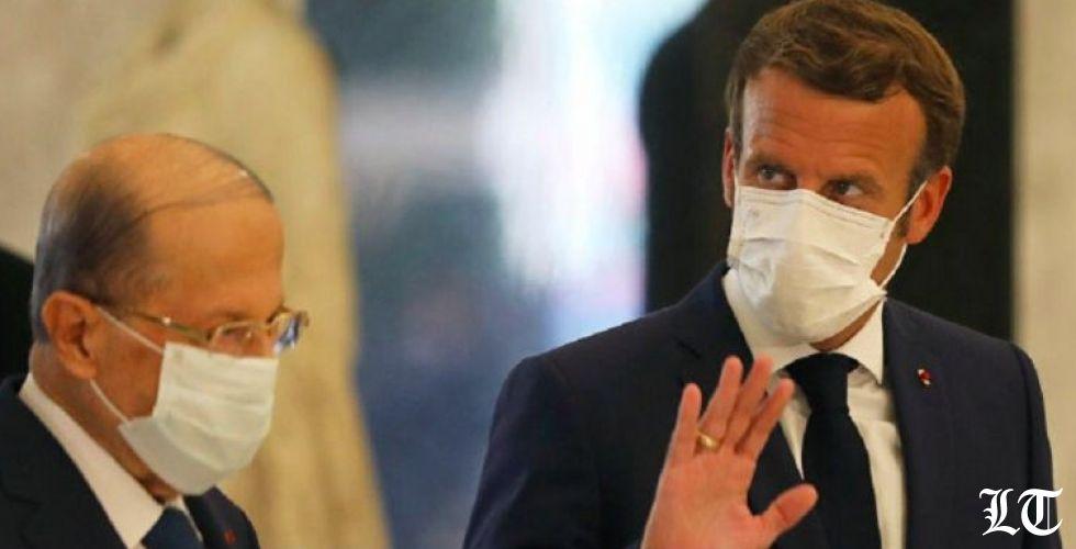 الرئيس ماكرون في المئوية اللبنانية يدّ على بيروت والأخرى في طهران