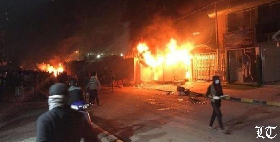 العنف في العراق يتصاعد بعد إحراق القنصلية الإيرانية في النجف