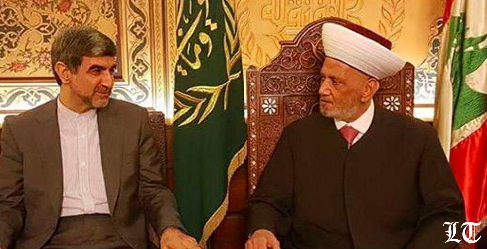"""السفير الايراني في دار الفتوى: الحياد شأنٌ لبناني متوقعا ردا قاسيا على أيّ """"حماقة """"اسرائيلية"""