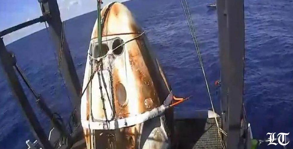 سبيس إكس تنجح في التمهيد لرحلات فضائية مأهولة