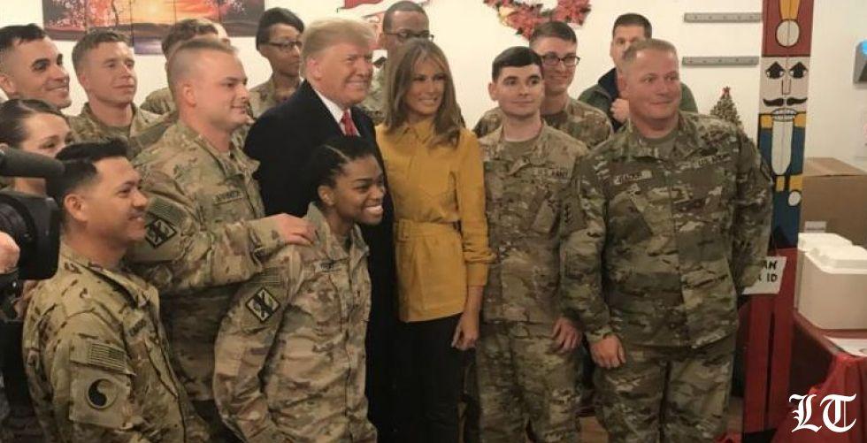 لا أبعاد اقليمية لزيارة ترامب للعراق