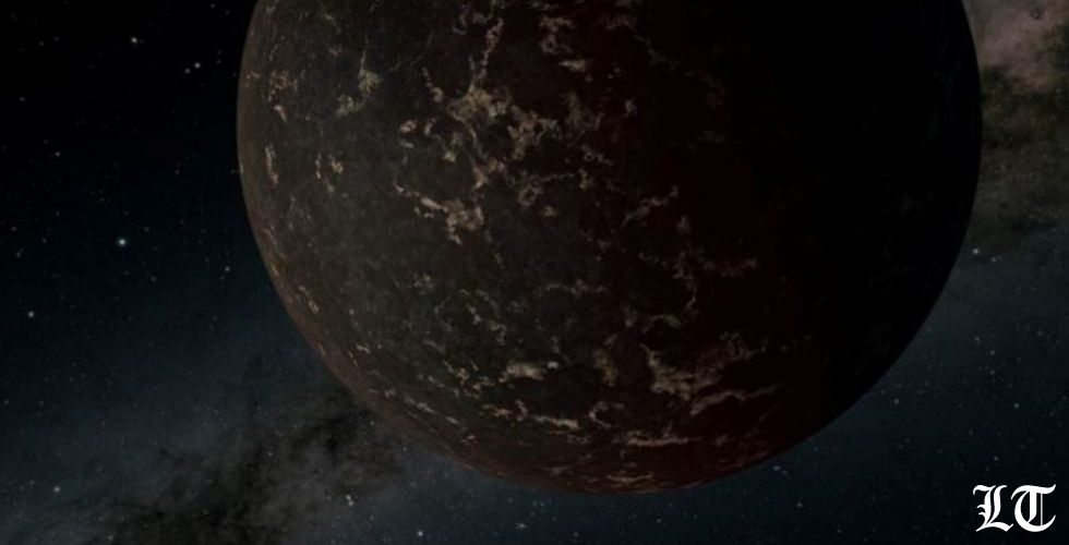 أرضٌ شبيهة بقمر خارج المجموعة الشمسية