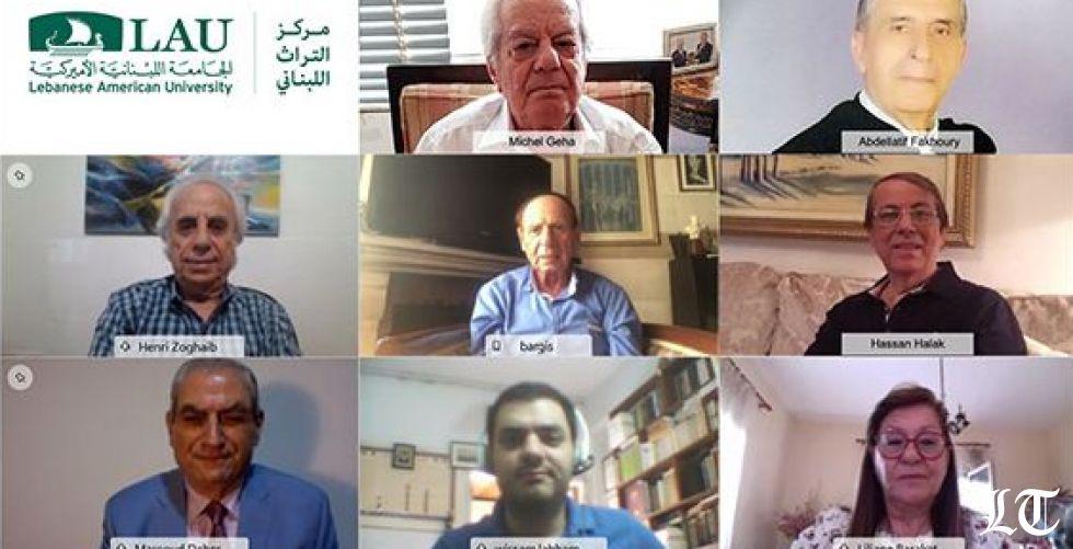 مسعود ضاهر في الجامعة اللبنانية الأميركية: الفرنسيون لم يرسِّموا الحدود