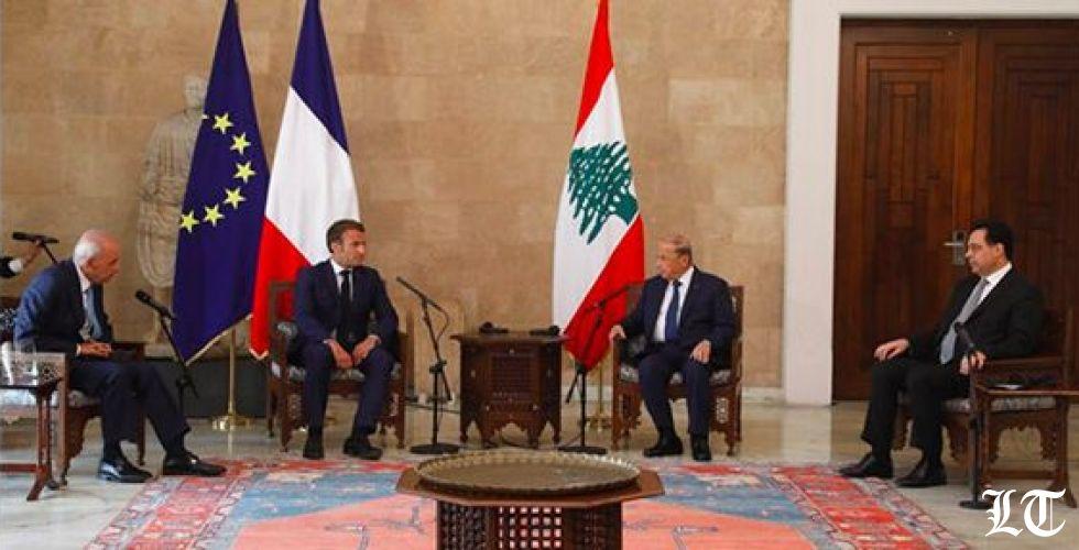 الصورة الرسمية الأولى للقمة اللبنانية الفرنسية