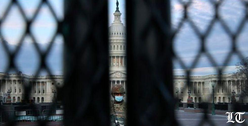 صور الجيش الأميركي في مبنى الكونغرس