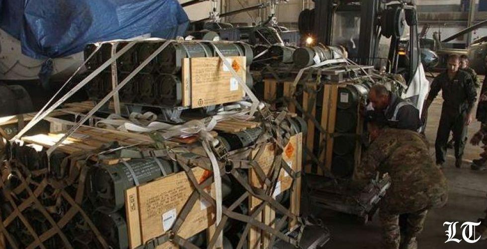 شحنة صواريخ أميركيّة ذكيّة هبة للجيش اللبناني