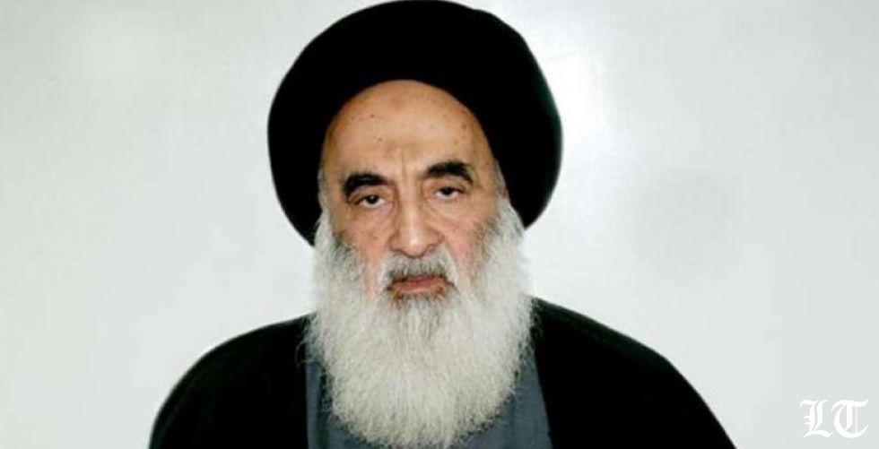 السيستاني يدعو الى إسقاط الحكومة العراقية ويترحّم على الشهداء