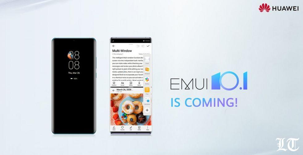 هواوي تعلن عن جدول تحديث واجهة المستخدم EMUI 10.1