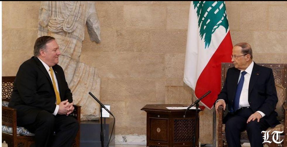 الرئيس عون لبومبيو:حزب الله حزب لبناني
