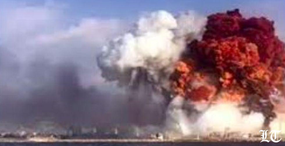 لبنان لا يزال يؤكد حصول انفجار في مستودع للمفرقعات في المرفأ