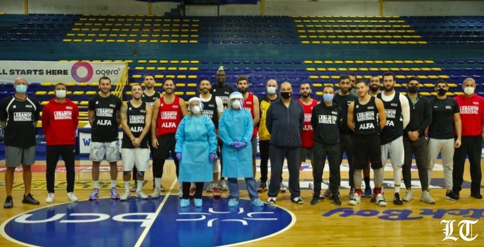 عيادة LAU  المتنقّلة تزور منتخب لبنان لكرة السلّة