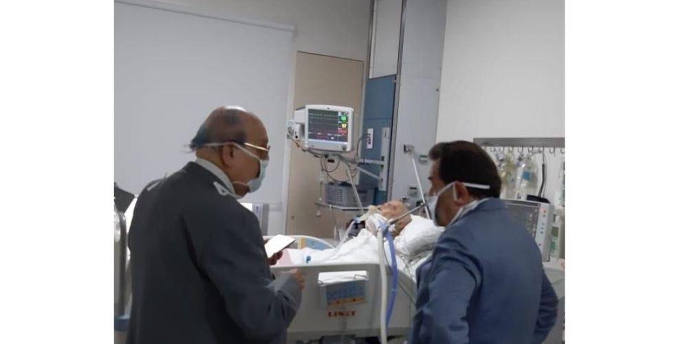 البطريرك صفير في العناية الفائقة في ظل مراقبة طبية