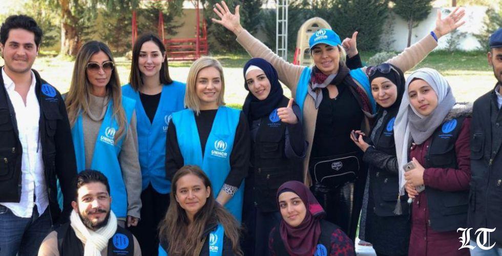 دعم إغاثة اللاجئين خلال فصل الشتاء القاسي