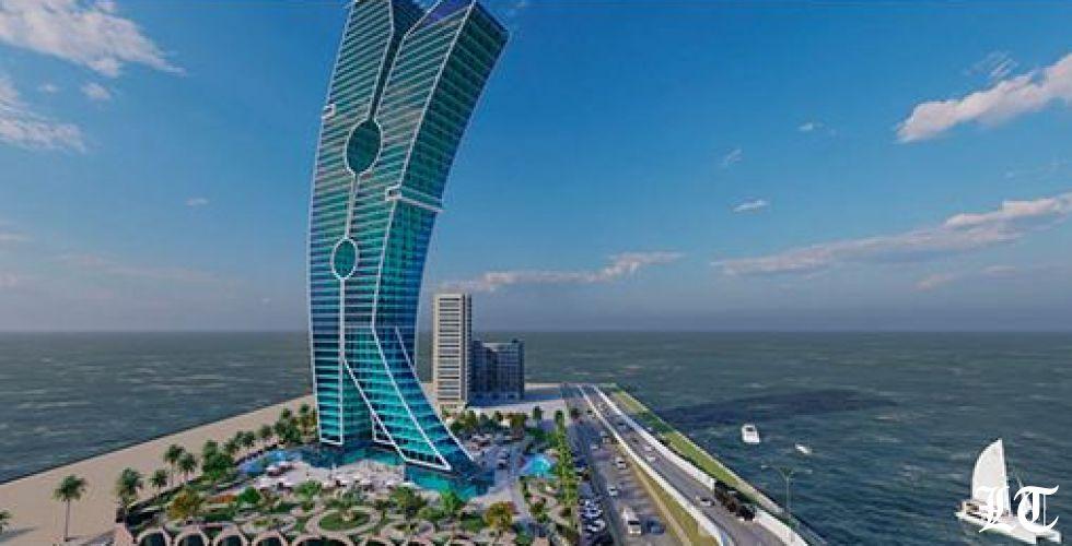 برج مشابك الغسيل في دبي كرمز للتطبيع مع اسرائيل