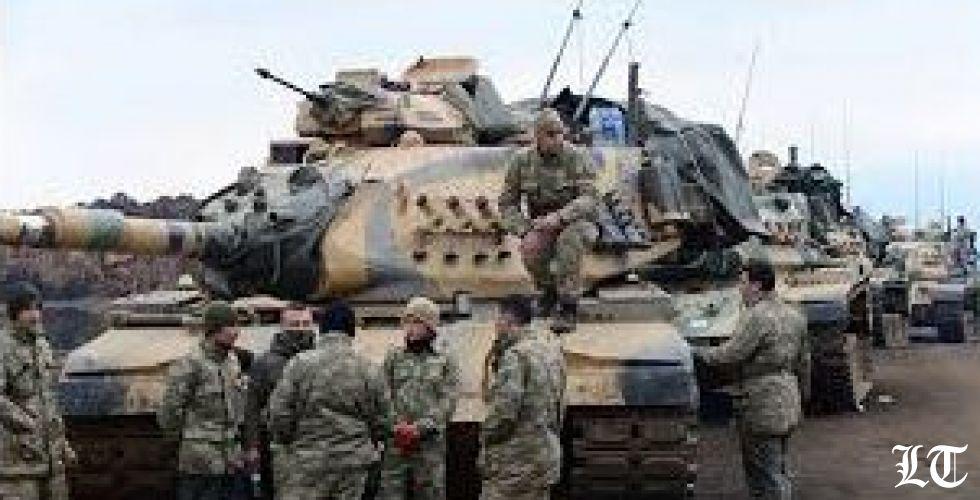 الجيش السوري في منبح لحماية الأكراد من تهديدات تركية