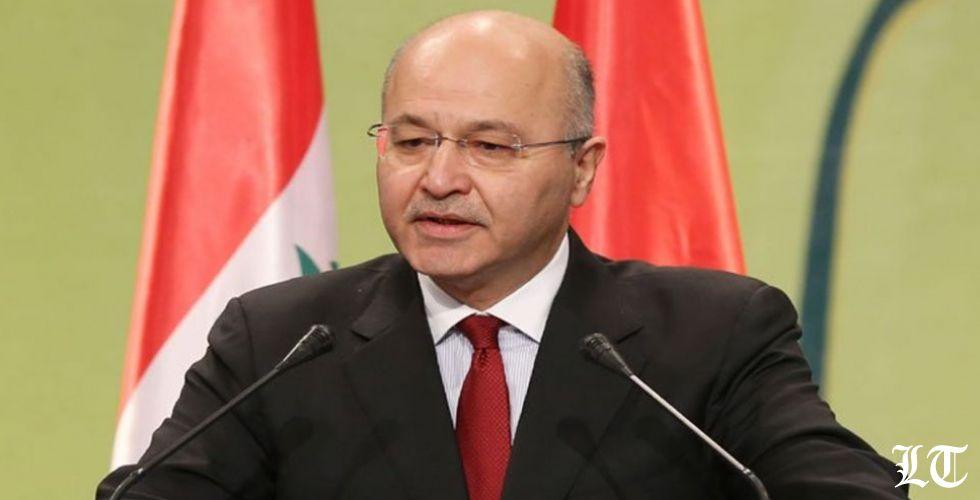 الرئيس العراقي: ترامب لم يطلب إذنا لمراقبة إيران