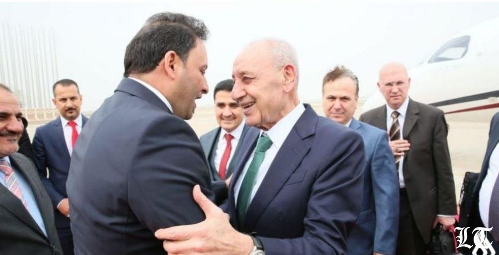 بري في العراق مهنئا بالانتصار على الارهاب