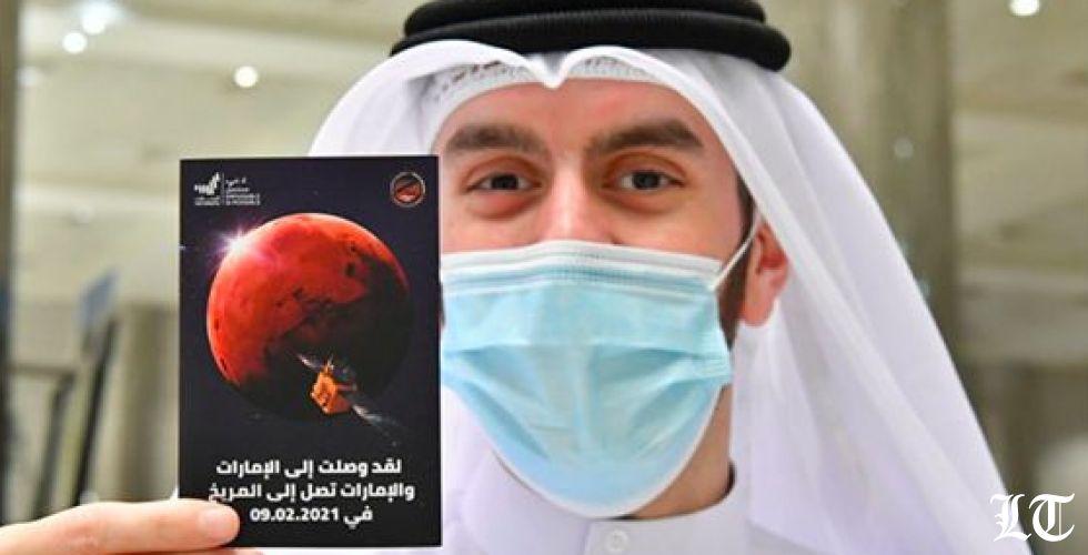 ختم المريخ في مطار دبي