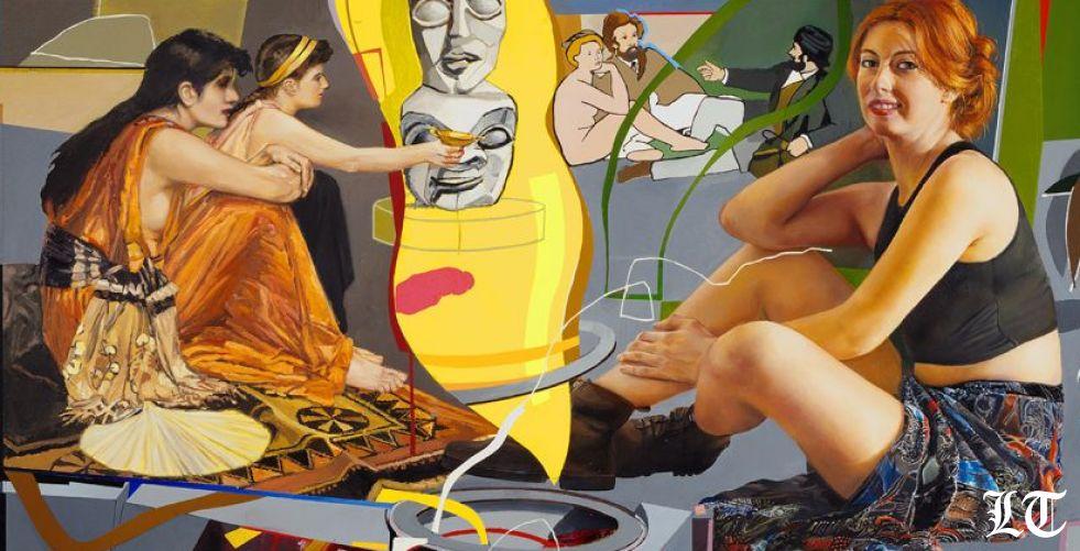 محمد الرواس في غاليري صالح بركات:اللوحة التي تروي