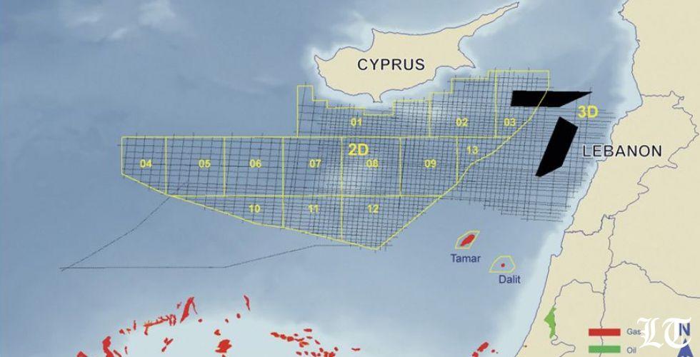 إسرائيل تنتهك الحدود المائية اللبنانية للتنقيب عن النفط