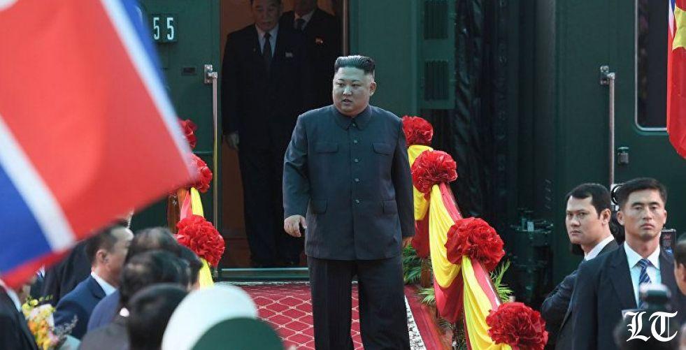 زعيم كوريا الشمالية كيم جونغ أون في روسيا