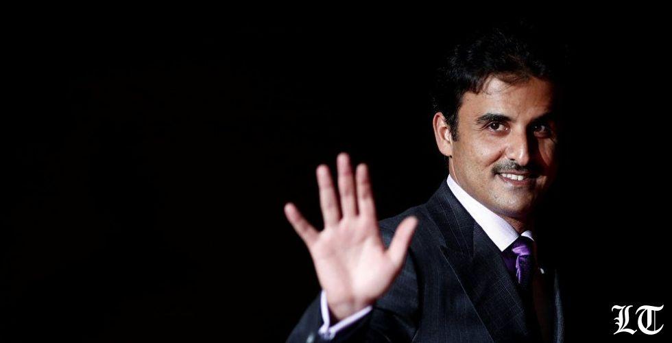 أمير قطر في بيروت في تحدّ للسعودية وسوريا