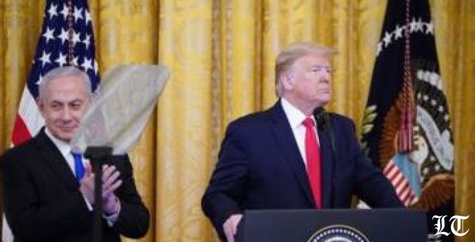 ترامب يعلن خطته للسلام