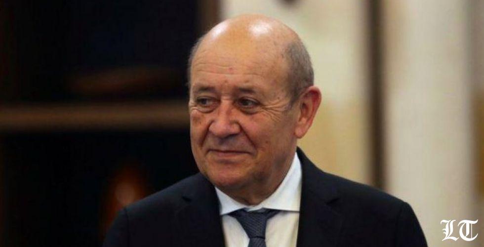 لودريان: الخطر اختفاء لبنان