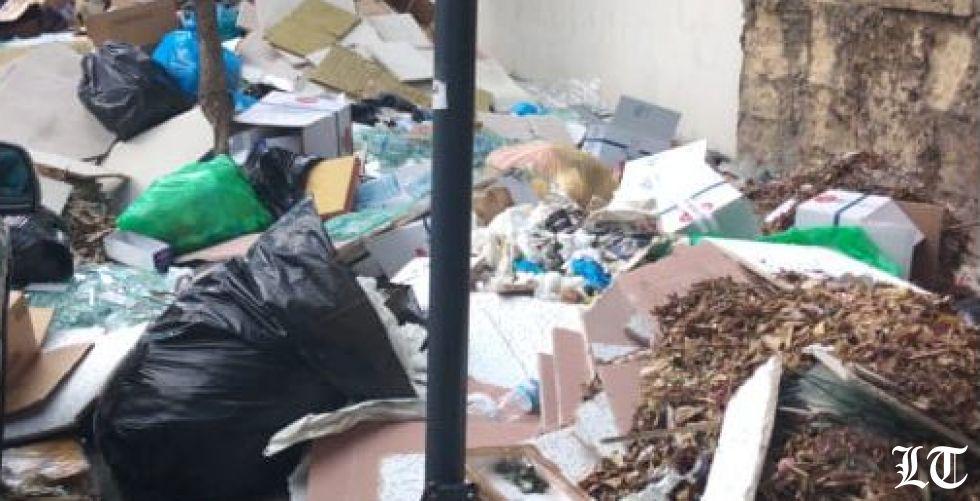مشكلة تراكم النفايات في بيروت تتفاقم