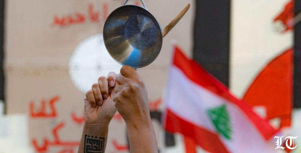 بين العرضين الحلم  بالاستقلال كان في وسط بيروت