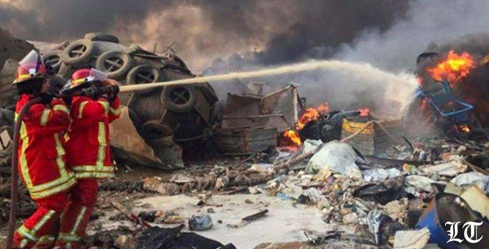 مصادر أمنية وطبية: مقتل 10 على الأقل في انفجار بيروت