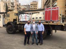 فيليبس فاونديشن تقيم مستشفى ميدانياً لدعم لبنان خلال هذه الظروف الاستثنائية