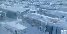 مخيم اللاجئين السوريين في عرسال