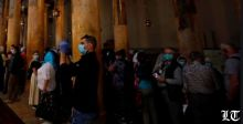 كورونا يُغلق كنيسة المهد في بيت لحم