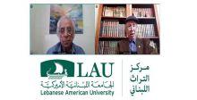 الجامعة اللبنانية الأميركية تستذكر مصطفى فرّوخ قلما وريشة