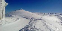 الثلج على ارتفاع ٦٠٠متر