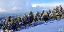 الثلج يعزّز سيطرته على جبال لبنان