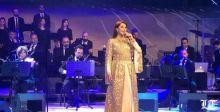 ماجدة الرومي أحيت ليلة لبنانية في قلب السعودية