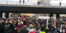 تظاهرات مطلبية تشهد عنفا في بيروت