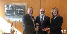 """بنك لبنان والمهجر يحصد جائزة """"التميّز في إدارة المخاطر"""" من فيزا"""