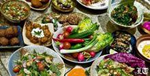 المأكولات اللبنانية المتوسطية المعتدلة تزيل الكرش